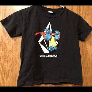 🔴 Kids Volcom Short Sleeves T-shirt Top Sz L